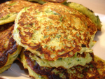 Blinis aux courgettes